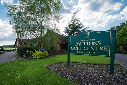 paultons golf sign