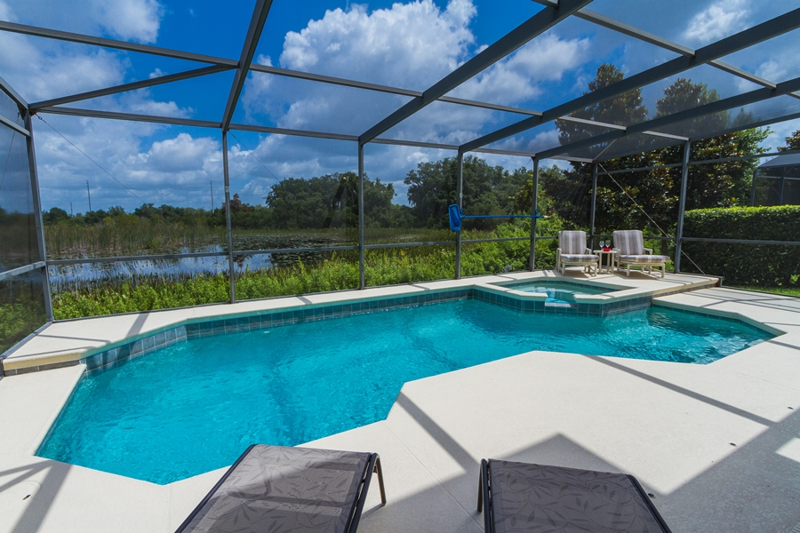 Villa to rent in Orlando with pool